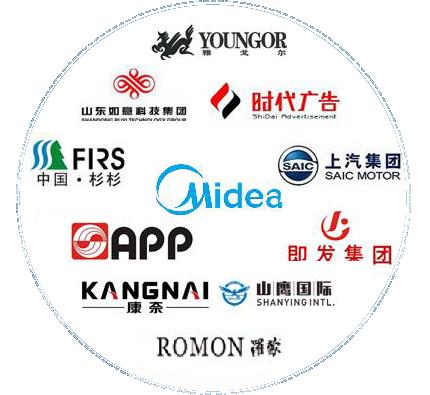 国内外众多企业合作